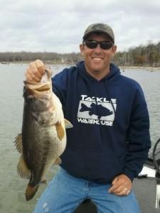 Pat's 11 pound bass