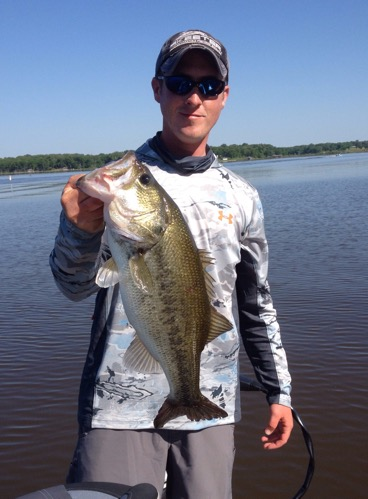 May 2 lake fork report lake fork guide andrew grills for Lake fork fishing guides