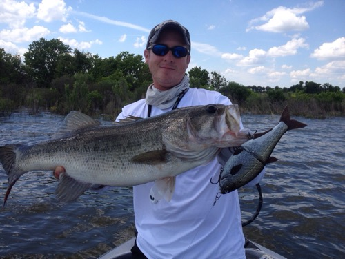 Big bass time on lake fork 5 7 15 lake fork guide for Fishing lake fork