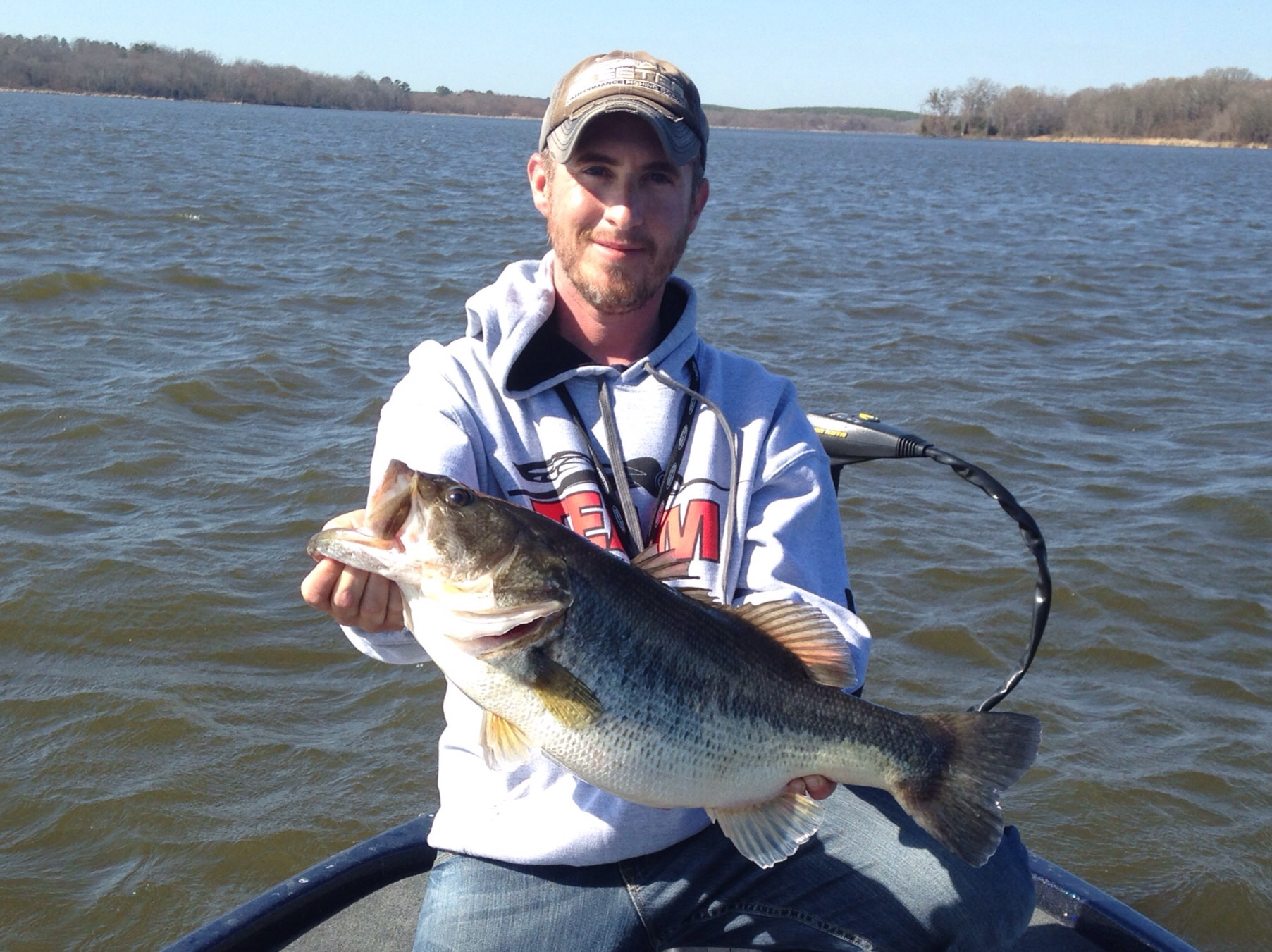 Big bass showing up lake fork lake fork guide andrew grills for Lake fork texas fishing report